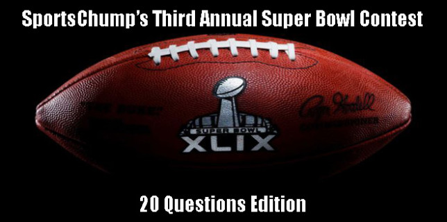 Super Bowl Contest 3