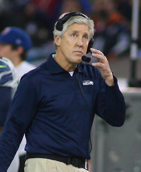 Pete Carroll headset