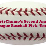 SportsChump's Second Annual Major League Baseball Division Winner Pick 'Em Contest