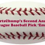 SportsChump's Second Annual Major League Baseball Division Winner Pick 'Em Contest