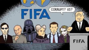 FIFA corrupt cartoon