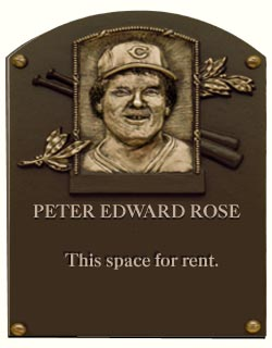 an argument in favor of putting pete rose in the baseball hall of fame New york — the most polarizing hall of fame debate since pete rose will now be decided by the baseball shrine's voters: do barry bonds, roger clemens and sammy sosa belong in cooperstown despite.