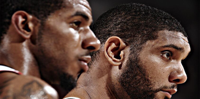 LaMarcus and Timmy