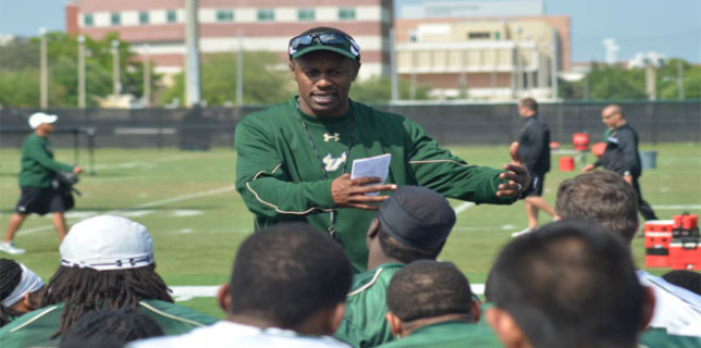 Willie Taggart USF coach