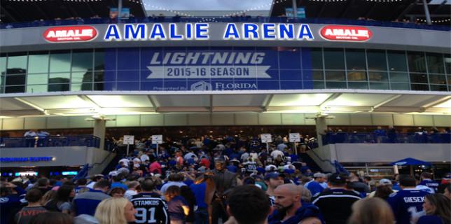 Fans pack into Amalie