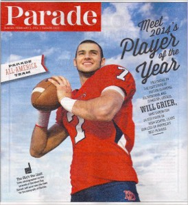 Grier on cover of Parade