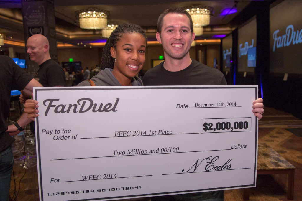 Fan Duel winners