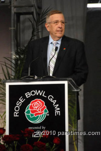 Brent at the Rose Bowl