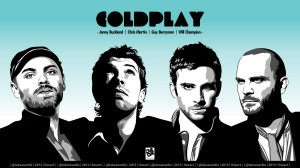 Coldplay art