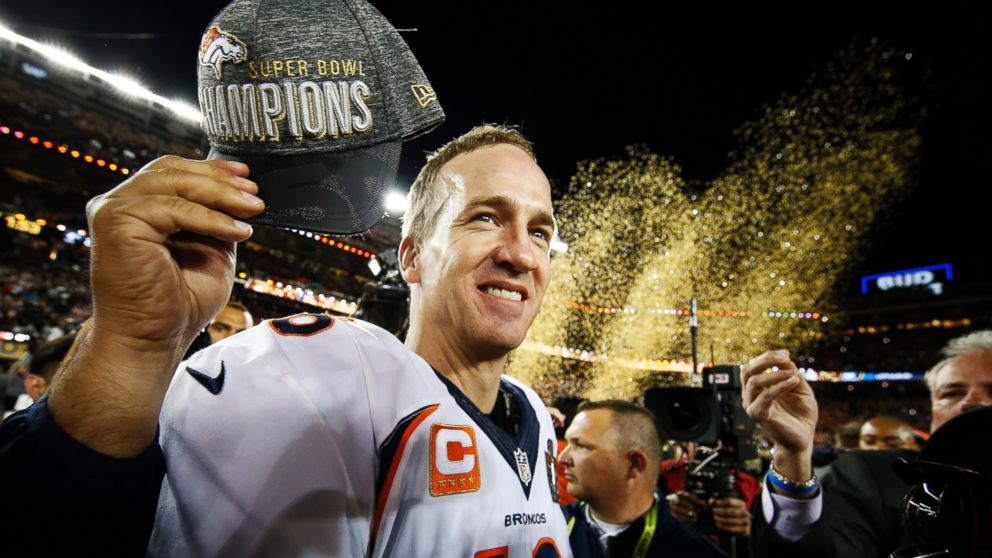 Peyton wins Super Bowl in Denver