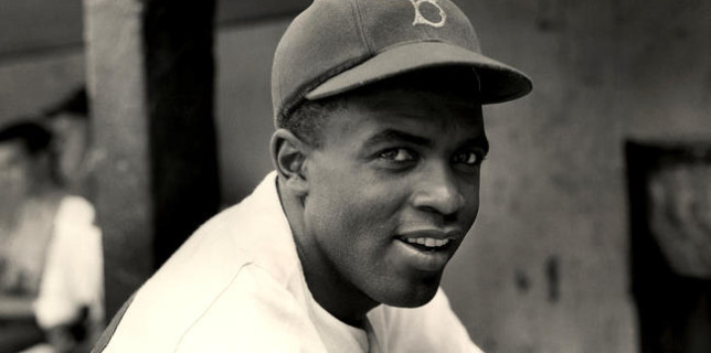 Burning memories of Jackie Robinson