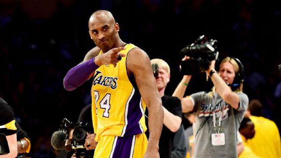 Kobe scores sixty