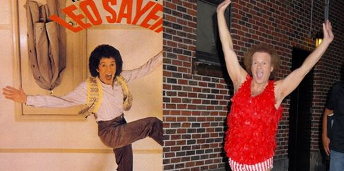 Leo Sayer Richard Simmons