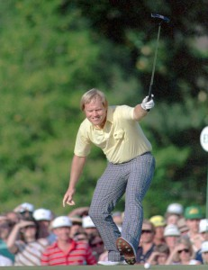 Nicklaus at Augusta