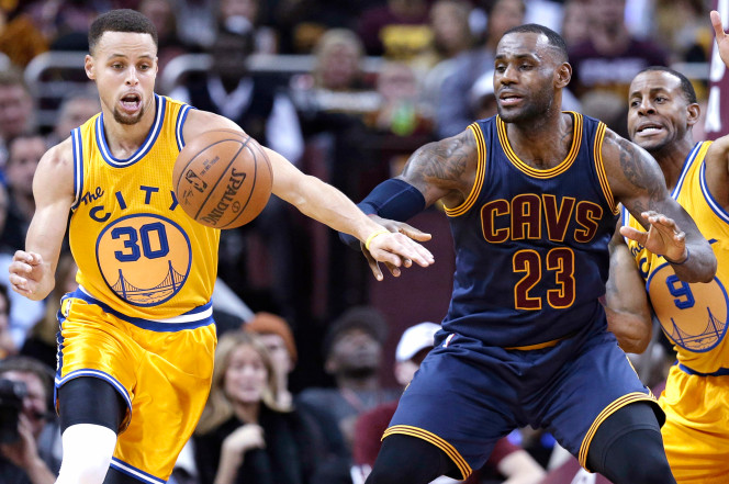 LeBron and Steph