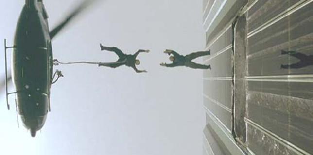 Matrix helicopter scene
