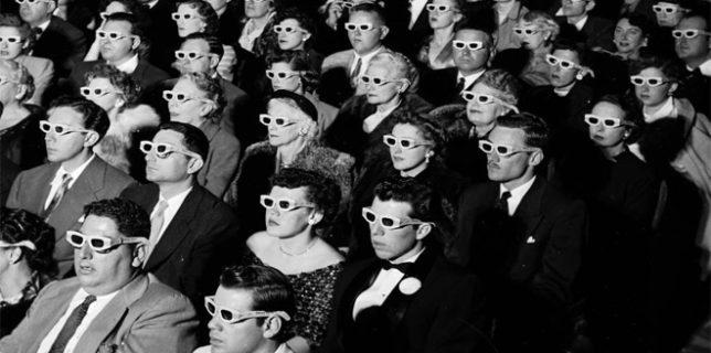 3d movie watchers