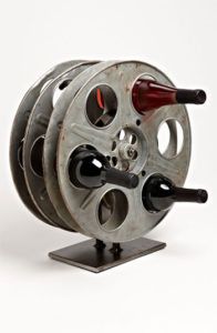 Film wine rack