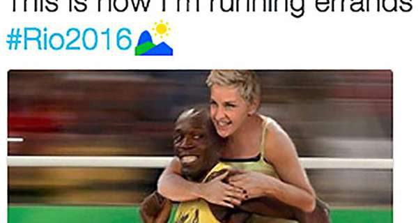 Ellen Rio Tweet