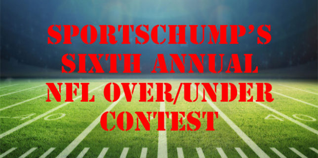 Sixth Annual Over Under