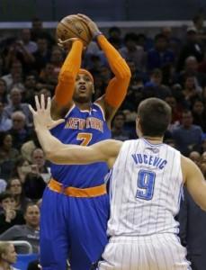 Carmelo shoots