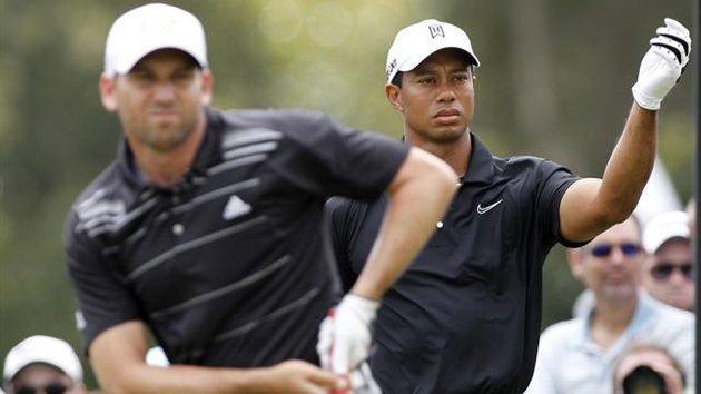 Tiger and Sergio