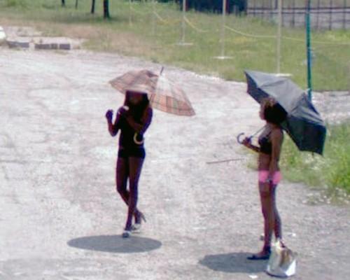 Prostitute umbrella