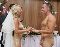 naked wedding