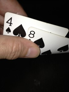 8 4 spades