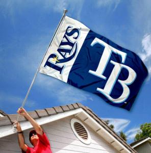 waving rays flag