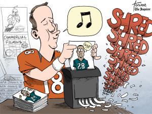 peyton cartoon