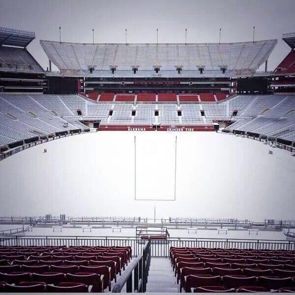 Alabama's Brrrr-yant Denny Stadium