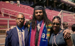 Richard Sherman graduates