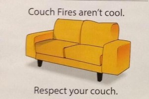 Couch fires