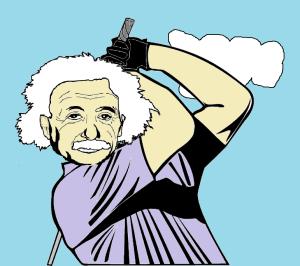 Einstein golfs