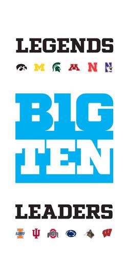Big Ten Legends Leaders