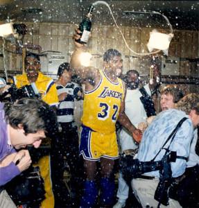 magic champagne