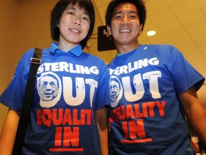 Sterling Out Equality In