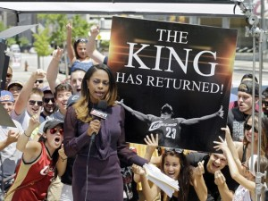The King has returned