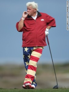 John Daly flag pants