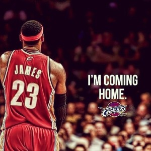 LeBron's coming home