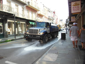 new orleans street sweeper