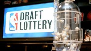 NBA Draft ping pong balls