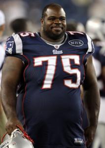 Vince Wilfork belly