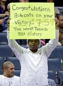 Bobcats 7-59