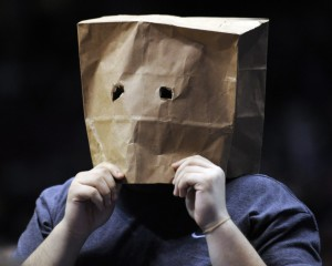 paper bag fan