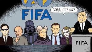 FIFA corrupt cartoon