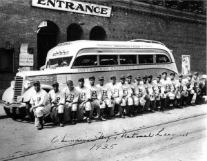 Negro Leagues Bus