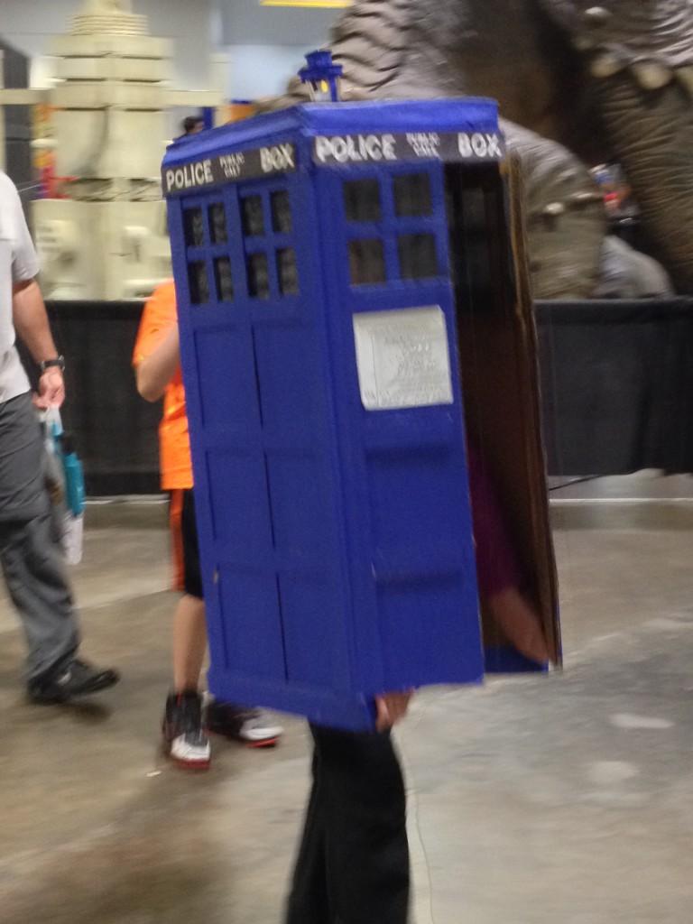 10 - Dr Whos inside