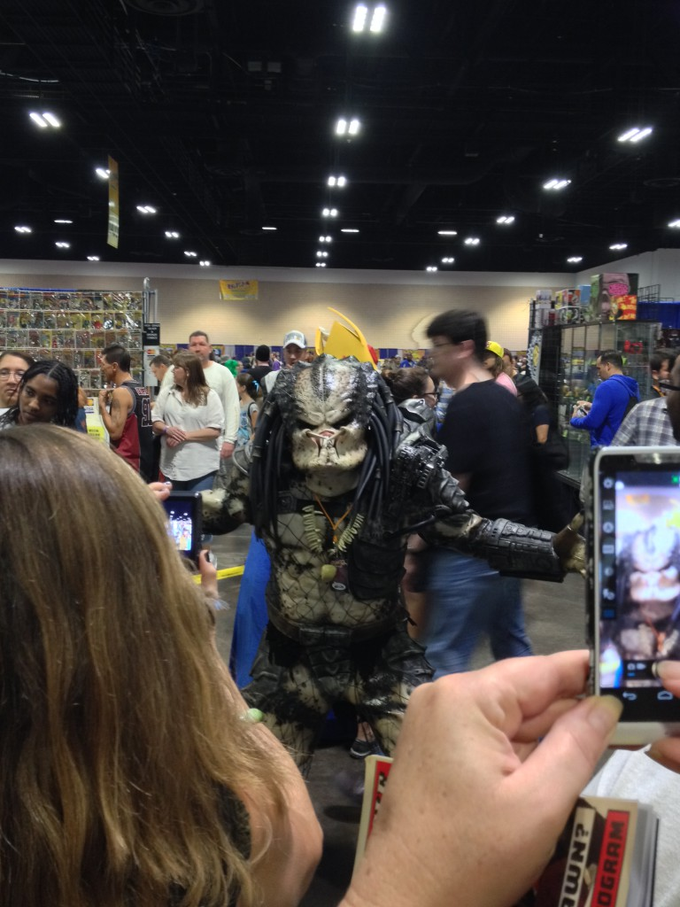 15 - Predator posing for his fans.  Good thing most of us were covered in mud